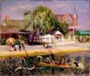 William Glackens, Beach at Blue Point