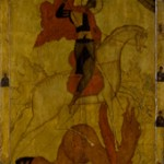 School of Novgorod, St. George Slaying the Dragon