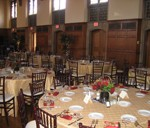 Wedding setup in the M&T Ballroom