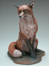 animal sculpture by Carolyn Dilcher-Stutz