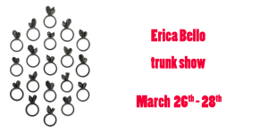 Erica Bello Trunk Show