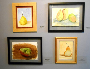 study in pears