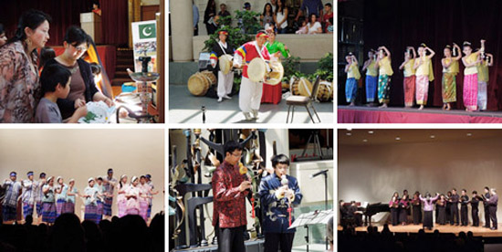 performers at 2012 Asian Pacific American Heritage Family Day