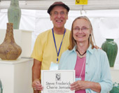picture of merit award winners Steve Frederick and Cherie Jemsek