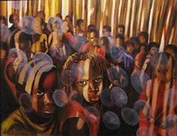 painting by Creative Workshop alumnus Richmond Futch Jr.