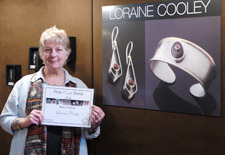 Loraine Cooley won Best in Show at the 12th Annual Fine Craft Show