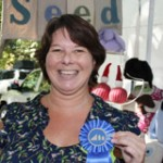 Nancy Topolski won a merit award at the 2011 Clothesline Festival