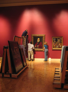 renaissance gallery reinstallation update march 2011