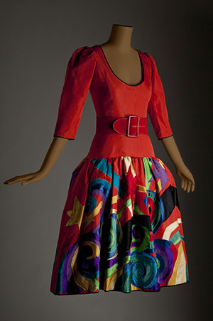 Yves St. Laurent Picasso dress