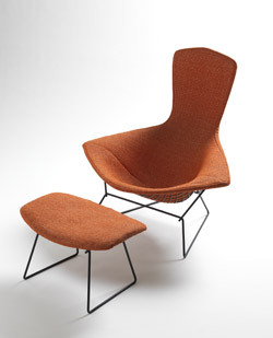 Harry Bertoia bird lounge chair