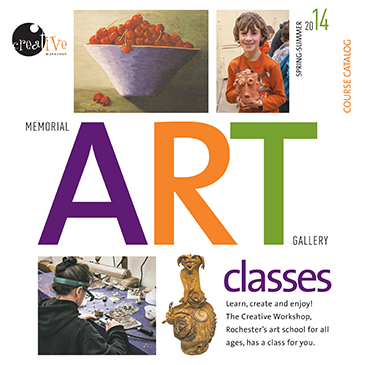 Creative Workshop spring/summer classes