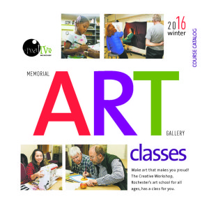 Winter Classes in the Creative Workshop