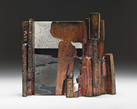 Stone Gate ceramic by Wayne Higby