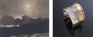 works by winslow homer and loraine cooley from art reflected