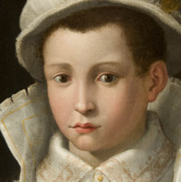 Detail of Bedoli Portrait of a Boy