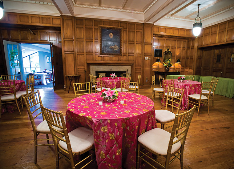 event in the bausch lomb parlor