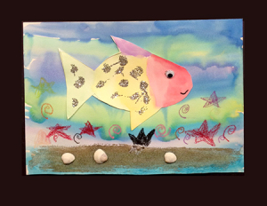 Rainbow Fish by Wendy B