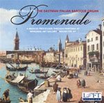 CD cover for Promenade: A Musical Procession through Paintings at Memorial Art Gallery, Rochester, New York