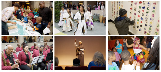 activities at the 2011 Black History Month Family Day