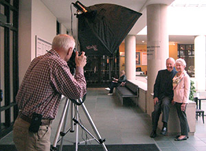George Eastman Circle photo shoot