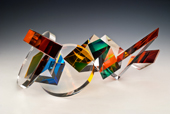 glass sculpture by Michael Taylor