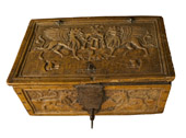15th-century German marriage chest