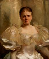 Mrs. William Shakespeare by John Singer Sargent