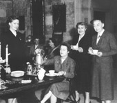 Women's Council Tea circa 1955