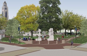 Proposed Centennial Sculpture Park photo rendering by Bayer Associates
