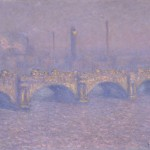 Claude Monet Waterloo Bridge, Veiled Sun