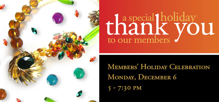 member's holiday celebration december 6