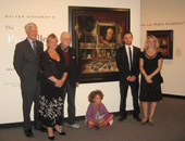 descendants of Walter Goodman at Memorial Art Gallery exhibition of his work