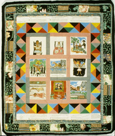 Faith Ringgold story quilt