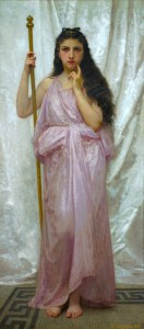Young Priestess by William-Adolphe Bouguereau