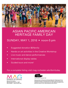 Asian Pacific American Family Day