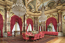 dining room at the Breakers