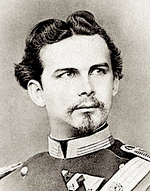 Ludwig II, around 1874