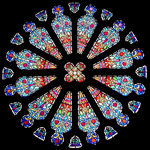 Rose window, United Methodist Church, Jenkintown, PA.