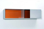 Menziken 87-55, a Minimalist wall sculpture from 1987 by Donald Judd