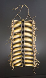 traditional Sioux breastplate