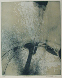 Connection, 2010 Dan Weldon etching