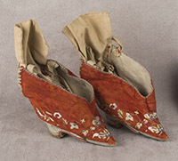 Chinese Lotus Shoes