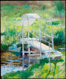 The White Bridge by John Henry Twachtman