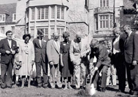 memorial art gallery 1985 groundbreaking for expansion project