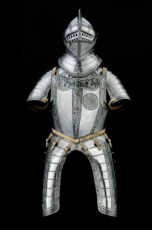 Partial Armor made for the Dukes of Brunswick-Wolfenbüttel