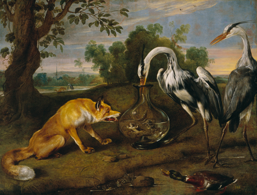 The Fox and the Heron