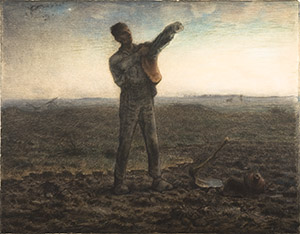 Jean-Francois Millet, The End of the Workday
