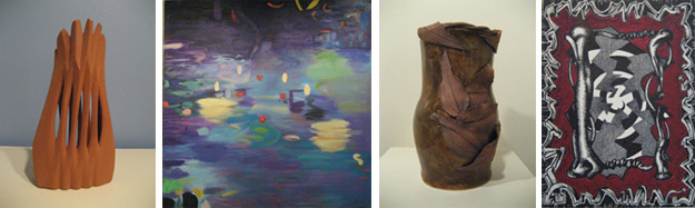 works by Creative Workshop faculty currently on view