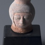Jar in the Form of a Human Head