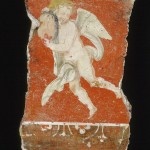 Fresco Fragment with Cupid Holding a Mask